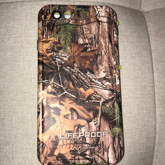 brand new a2146 b9786 IPhone 6/6s Realtree camo Lifeproof case